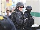 Zásah kriminalistů ÚOOZ v Islámské nadaci v ulici Politických vězňů v Praze