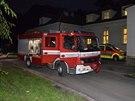 U požáru v bohnické léčebně zasahovaly vozy ze čtyř hasičských stanic