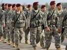 Příslušníci americké 173. výsadkové brigády v Polsku