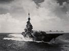 Letadlová loď HMS Illustrious