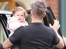 Robbie Williams s dcerou Teddy
