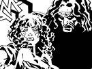 Ukázka ze souborného vydání komiksu Sin City