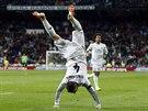 TAKOVOU MÁM RADOST. Sergio Ramos oslavuje gól. Obránce Realu Madrid pomohl...