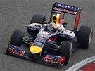 SNAHA. Sebastian Vettel ve Velké ceně Číny formule 1.