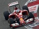 OSTŘE DOLEVA. Fernando Alonso ve Velké ceně Číny formule 1.