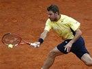 Stanislas Wawrinka ve finále turnaje v Monte Carlu.