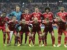 Fotbalisté Bayernu Mnichov před semifinálovou odvetu Ligy mistrů.