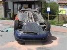 Řidička renaultu nedala v křižovatce přednost octavii jedoucí po hlavní...
