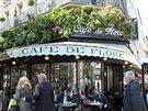 Slavná kavárna Cafe de Flore ve čtvrti Saint-Germain des Prés je dnes v první...