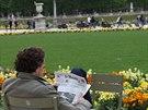 Nerušená pařížská pohoda v Lucemburských zahradách
