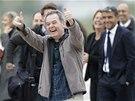 Novinář Didier Francois se raduje ze svého návratu do Francie po deseti