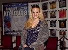 Muzikál Sněhová královna představili tvůrci a herci v pražském divadle Hybernia...