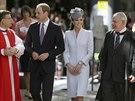 Princ William a Kate se zúčastnili slavnostní velikonoční mše v sydneyské...