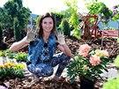 Hanka Kynychová studovala na zahradnické škole.
