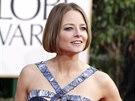 Jodie Fosterová na Zlatých glóbech (Beverly Hills, 13. ledna 2013)