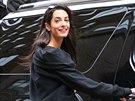 Amal Alamuddinová (New York, 19. března 2014)