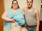 Charity Pierce a jej� p��tel Tony Sauer (28. b�ezna 2014)