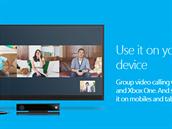 Skupinový videohovor je zatím dostupný na desktopu (PC i Mac) a pro Xbox,...