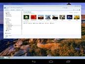Aplikace Chrome Remote Desktop propojí váš tablet spočítačem prostřednictvím...