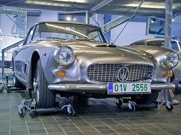 Výstava vozů Maserati v Národním technickém muzeu v Praze
