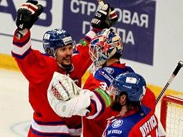 Radost hokejistů Lva Praha