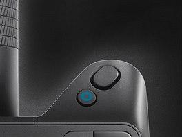 """Nad spouští je i modré tlačítko """"Lytro"""", které na displeji zobrazí hloubkový..."""