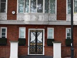 Mnoho domů v Anglii má tradičně svá jména, jako tento londýnský dům pojmenovaný