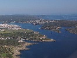 Krásný přístav a městečko Mahon, Menorka