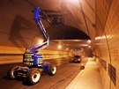 Pr�ce na dostavb� tunelov�ho komplexu Blanka se po p�ti m�s�c�ch znovu rozjely