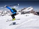 Biatlonista Ondřej Moravec ochutnal skitouring neboli skialpinismus.
