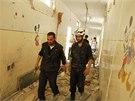 Nálet v Aleppu na severu Sýrie zasáhl školu, kde zabil desítky lidí včetně