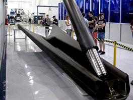 Z�b�r podvozkov� nohy raket Falcon