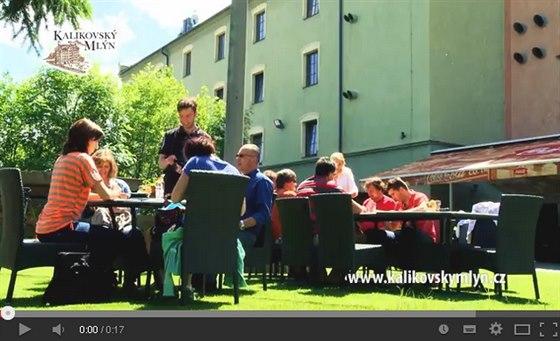 Restaurace Kalikovský mlýn nabízí nejen požitek z dobrého jídla
