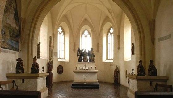 Návštěvníky přivítá během Noci kostelů hradní kaple na Švihově, ozářená