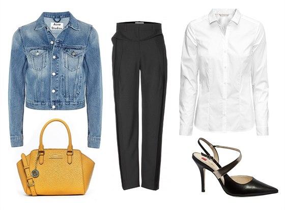 Džínová bunda, Acne Studios, prodává Simple za 6 850 Kč. Kabelka, DKNY, info o...