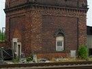 Takto vypadal cenný věžový vodojem ve Studénce ještě před pár lety.