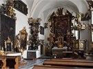 Zámecká kaple v Náměšti nad Oslavou.