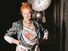 Módní návrhářka Vivienne Westwoodová