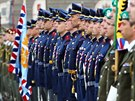 Slavnostní akt u přílžitosti 69. výročí od konce druhé světové války na...