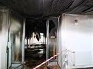 Požár vyhnal z brněnských kolejí ve Vinařské ulici tři stovky studentů o půl...