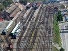 Současná podoba největšího brněnského vlakového nádraží.