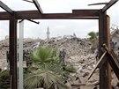 Mohutná exploze ve čtvrtek srovnala se zemí hotel a několik dalších budov v