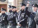 Na demonstraci dohl�ela i policie (8. kv�tna)