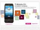 T-Mobile G1 je stále inzerován na webu amerického T-Mobile