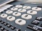 Numerická klávesnice vyniká velkými a dobře čitelnými tlačítky.