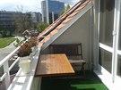 osazení balkonu