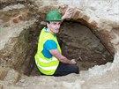 Na opravovaném Zelném trhu pracují archeologové. Zkoumat ho budou pravděpodobně...