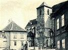 Encyklopedie dějin města Brna schraňuje historické fotografie města. Na tomto...