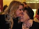 Iveta Bartošová se svou matkou