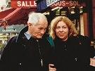 Vladimíra Čerepková v Paříži s Bohumilem Hrabalem